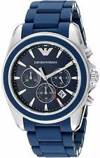 Emporio Armani Men's AR6068 'Sportivo' Chronograph Blue