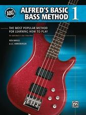 Alfred's Basic Bass Method Guitar Book 1 One ABG