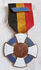 Insigne Médaille Catholique BELGE BELGIQUE 1953 LIÈGE LOURDES ORIGINAL MEDAL