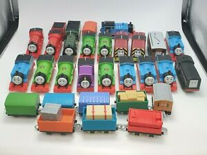Thomas & Friends Trackmaster Lot Of 19 Engines & Cargo
