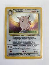 Clefable Prerelease 1/64 Rare Jungle Set 1995-98 Mint Pokemon Card
