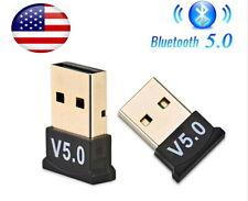 USB Bluetooth 5.0 Adapter Wireless Receiver Windows  7/8/10 PC Laptop