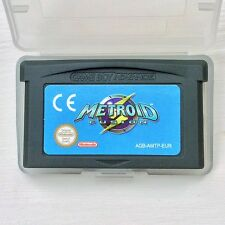 Metroid Fusion Nintendo Gameboy SP GBA Game Boy Advance Acción Aventura de vídeo