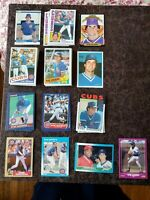 1984-88 Baseball Ryne Sandberg 72-card lot - Chicago Cubs legend - High grade