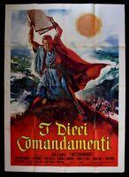 M148 Manifesto 4F I The Ten Commandments Cecil B.Demille Charlton Heston Brinner