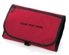 Bolsas de aseo de viaje rojo