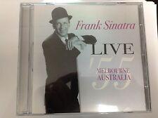 Frank Sinatra - Live Melbourne, Australia '55 (Live Recording, 2005) CD