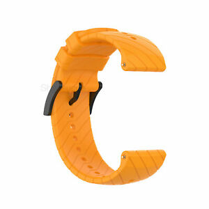 For Suunto 7/9 Baro/D5/Spartan Sport/Wrist HR Silicone Watch Band Strap Bracelet