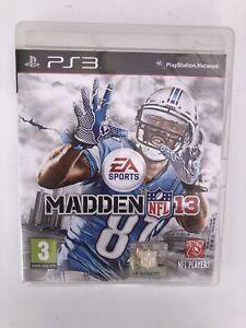 Madden NFL 13 (3) Sony PlayStation 3, PS3 (2012)