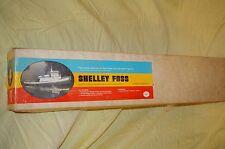 DUMAS BOAT SHELLEY FOSS HARBOR TUG #2312 WOODEN 36'' MODEL KIT VINTAGE