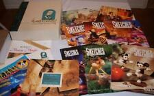 Wdcc Disney Collectors Society 9 Sketches Magazines Slipcase Classic Mag +
