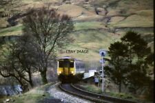 PHOTO  1990 WEST HIGHLAND LINE AT CRIANLARICH A DIESEL MULTIPLE UNIT ON THE WEST