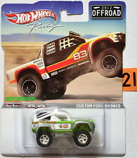 HOT WHEELS RACING 2012 OFFROAD CUSTOM FORD BRONCO W+
