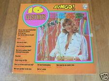 LP RECORD VINYL PIN-UP GIRL 16 FEESTHITS BINGO PHILIPS WILLY EN WILLEK ALBERTI,
