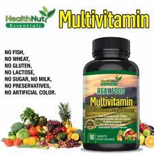 Whole Food Vegan Multivitamin Superfood Supplement for Men Women Non-GMO Vitamin