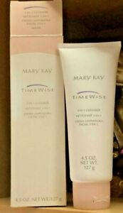 Mary Kay TimeWise 3-In-1 Cleanser Combination to Oily #869200 NEW IN BOX