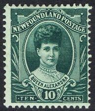 NEWFOUNDLAND 1911 QUEEN ALEXANDRA 10C
