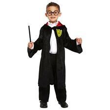 Wizard Boy Costume Harry Childrens Fancy Dress 4-6 Years Book Week Robe