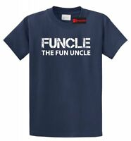 Funcle Fun Uncle Funny T Shirt Cute Uncle Brother Gift Bday Holiday Tee Shirt
