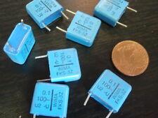 Alto Volt Condensatore WIMA STC 0,1µf 100v = 12x12x5mm 7x 25494