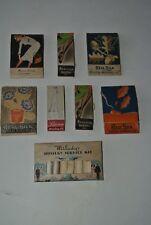 Set of 8 Art Deco Silk Mending Kits Colorful/Nice