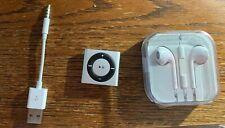 Apple iPod shuffle Silver 2GB MP3 Player - Silver New No Box