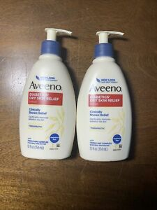AVEENO Skin Relief Diabetics' Dry Skin Lotion 12 oz (Pack of 2)free shipping.