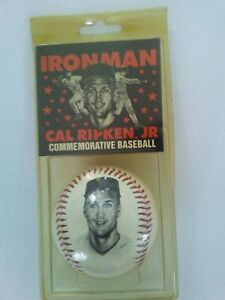 Cal Ripken Jr. Iron Man Commemorative Baseball