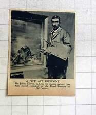 1919 Mr Julius Ohlsson Marine Painter New Art President