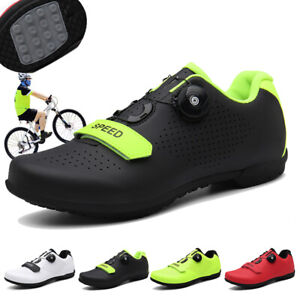 New Upline Road Cycling Shoes Men Ultralight Bike Bicycle Sneakers Professional