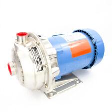 Goulds 1ST1E5E6 Centrifugal Pump NPE 316SS 1HP 3500RPM 208-230/460V TEFC