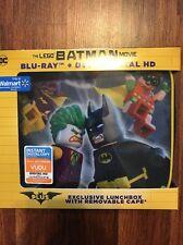 NEW The Lego Batman Movie Blu-ray + DVD + Digital HD - Wal-Mart Exclusive Bundle