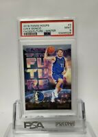 2018-19 Panini Hoops Luka Doncic RC Rookie Faces/Future Winter #3 PSA 9 MINT