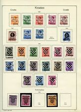 CROATIA 1941 Stamps Collection