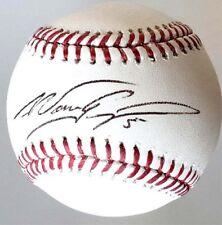 Nomar Garciaparra Signed OML Baseball Boston Red Sox ROY MLB JSA COA Autographed