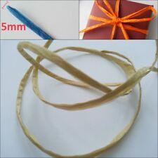 Colourfull 5mm PAPER STRING for home decor, crochet paper yarn bag/hat making