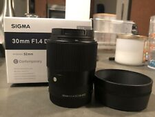 Sigma 30mm f/1.4 DC DN Lens for Sony E Mount