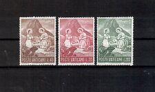 Vatikan Michelnummer 487 - 489 postfrisch (Kunst 813)