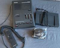 Olympus Pearlcorder DT1000 Desktop Cassette Transcriber, Foot Pedal, and More!!