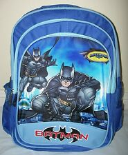 New Large BATMAN Boys Backpack/School Bag 40 x 30 x 15cm