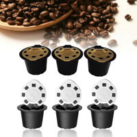 3 Pcs Refillable Reusable Coffee Capsule Stainless-Steel Filter For Nespresso