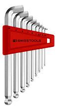 PB Swiss Tools PB 2212.H-10 Hex Key Set Ballpoint Metric 100deg Angle 1.5-10mm