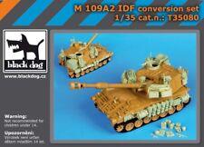 Black Dog T35080 1/35 M109A2 IDF Paladin Conversion & Baggage Loadup for Kinetic