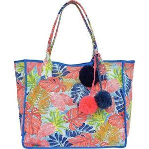 NWT Tommy Bahama Maui Beach Bag, Artsy Leaf Color MSRP: $118.00