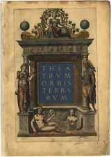 Theatrum Orbis Terrarum Vintage Maps Collection On Cd