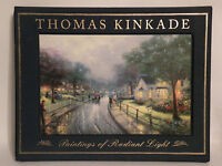 """Thomas Kinkade-LE BOOK """" PAINTINGS OF RADIANT LIGHT"""" 215 Pages, 100 Pictures NIB"""