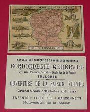 RARE CHROMO CONSTANTINE ALGERIE FRANCE COLONIES BÔNE BOUGIE LAMBESE BISKRA