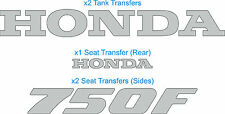 Honda VFR 750F FJ 1988 Decals Transfers Logos Stickers - Any Colour