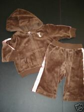 Gymboree Teachers Pet Brown Velour Hoodie Pants 3-6