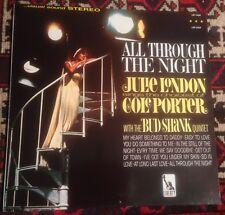 JULIE LONDON all through the night 1985 FR STEREO REISSUE VINYL LP